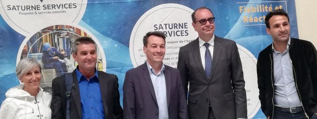 Le Groupe Saturne - Actualités - Ouvre moi ta boite - Made In 95 - Un univers de propreté - Nettoyage professionnel - Entreprise de nettoyage