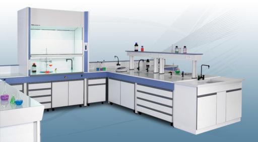 Le Groupe Saturne - Secteurs d'intervention - Laboratoire - Un univers de propreté - Logo - Nettoyage professionnel - Entreprise de nettoyage