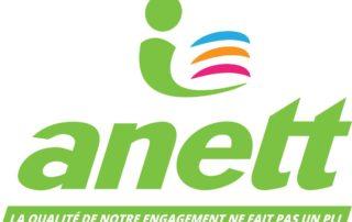 Le Groupe Saturne - Anett - Partenaire - Un univers de propreté - Logo - Nettoyage professionnel - Entreprise de nettoyage
