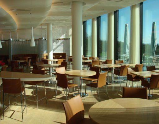 Le Groupe Saturne - Secteurs d'intervention - Restaurant - Un univers de propreté - Logo - Nettoyage professionnel - Entreprise de nettoyage