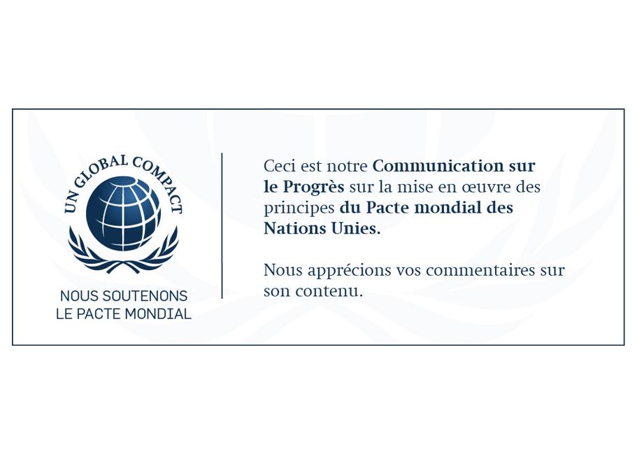 Le Groupe Saturne - Certification - COP - Pacte mondial - Nettoyage professionnel - Entreprise de nettoyage