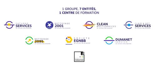 Entités Groupe logos